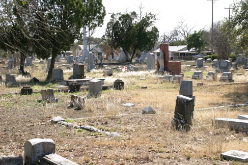 hot cemetery
